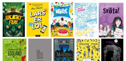 Ti bøker har blitt plukka ut til Bokslukarprisen. Dette er bøker som Foreningen !les meiner er god litteratur for barn mellom 10-12 år. Sjetteklassingar i heile Noreg skal vere med på å stemme fram årets Bokslukarbok.