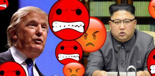 USA og Nod-Korea er langt frå vener. Dei har krangla i 67 år. (Donald Trump: Foto: Gage Skidmore/Flickr / Kim jung-un: Wikipedia.org)