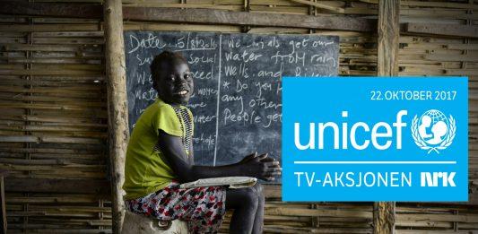 UNICEF arbeider for å gje skulegang til barn i krigs- og konfliktområde. No skal barn i Syria, Mali, Sør-Sudan, Pakistan og Colombia få det betre. Foto: Pressebilete/blimed.no