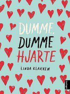 Dumme, dumme hjarte ein barneroman om 12 år gamle Klara og hennar forelsking. Bomomslag/Samlaget