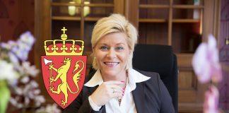 Finansminister Siv Jensen (Foto: Rune Kongsro)