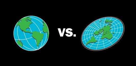 KONSPIRASJONSTEORI: Det er faktisk mange som meiner at jorda er flat. Det er ho IKKJE. (Illustrasjon: Colourbox)