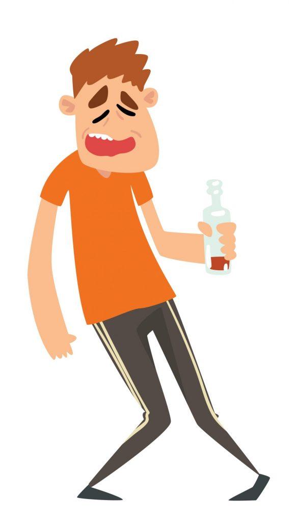 Overdriven bruk av alkohol og rus er ikkje bra for verken deg sjølv eller dei rundt deg.