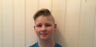 VANN: Dani-Aron Østhus Pedersen (12) vann skrivekonkurransen til Framtida Junior.