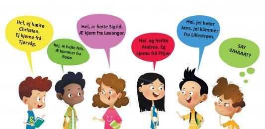 Noreg har mange ulike dialekter. Det gir deg identitet